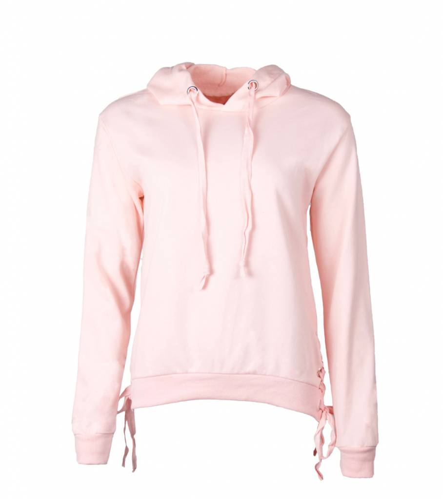 GOT ME STRAPPED PINK HOODIE