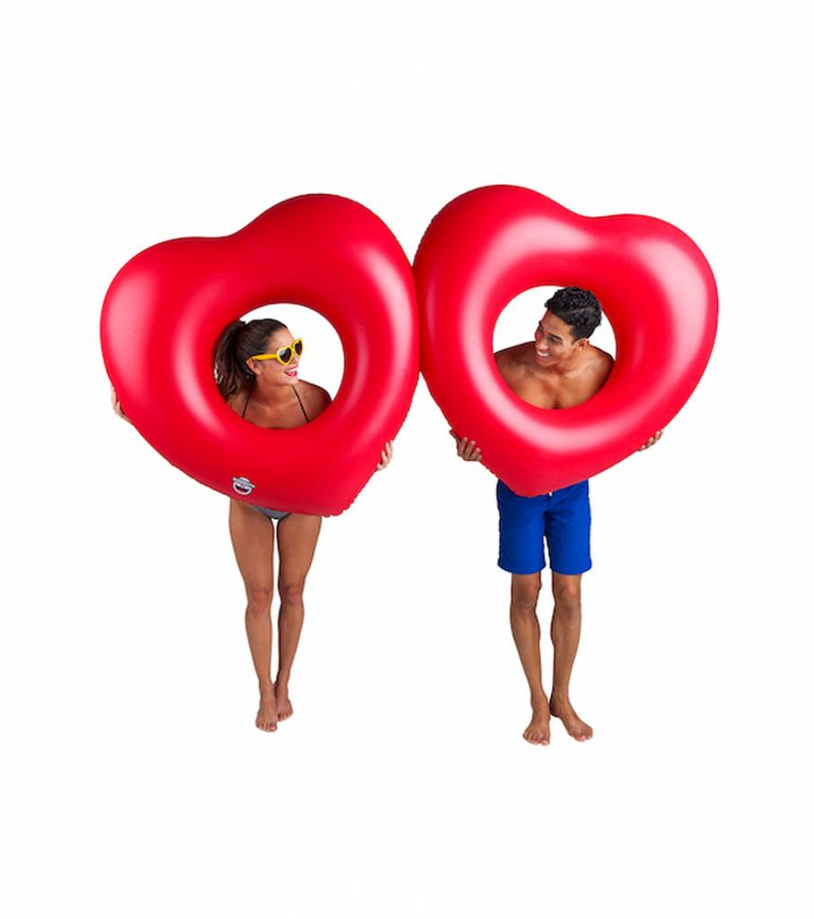 TWO HEARTS POOL FLOAT