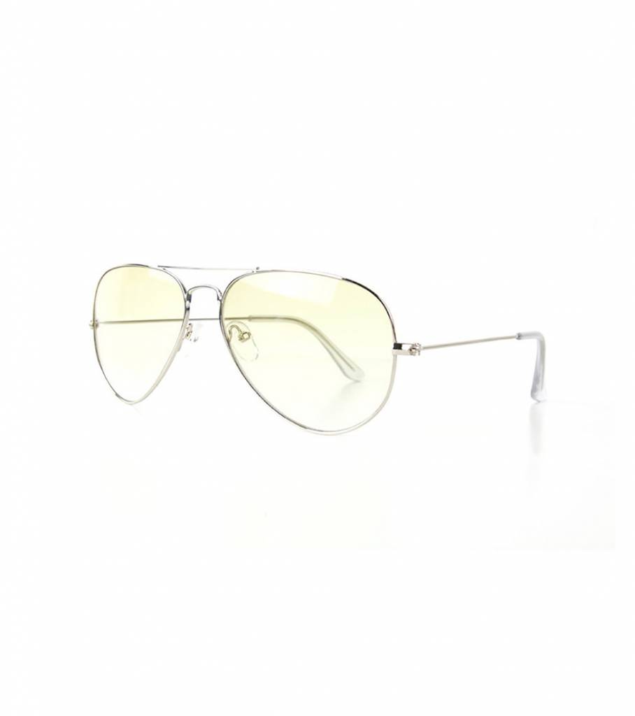 90 YELLOW AVIATOR GLASSES