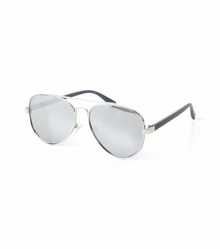 METALLIC AVIATOR GLASSES