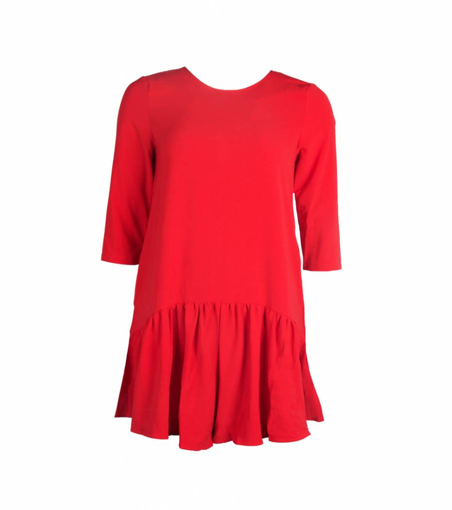 RED BOWTIE PLAYSUIT