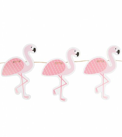 FLAMINGO PAPER GARLAND