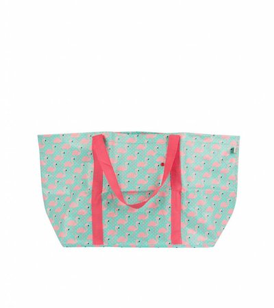 SUMMER FLAMINGO SHOPPER BAG