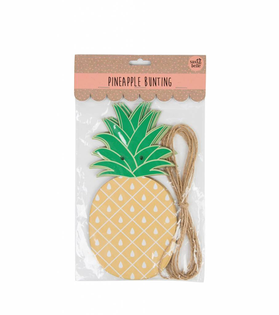 PINEAPPLE PAPER BUNTING