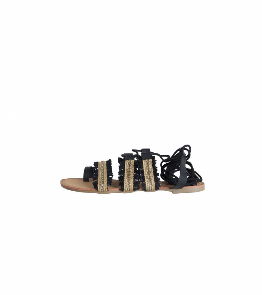 GLADIATOR GOLD SANDAL