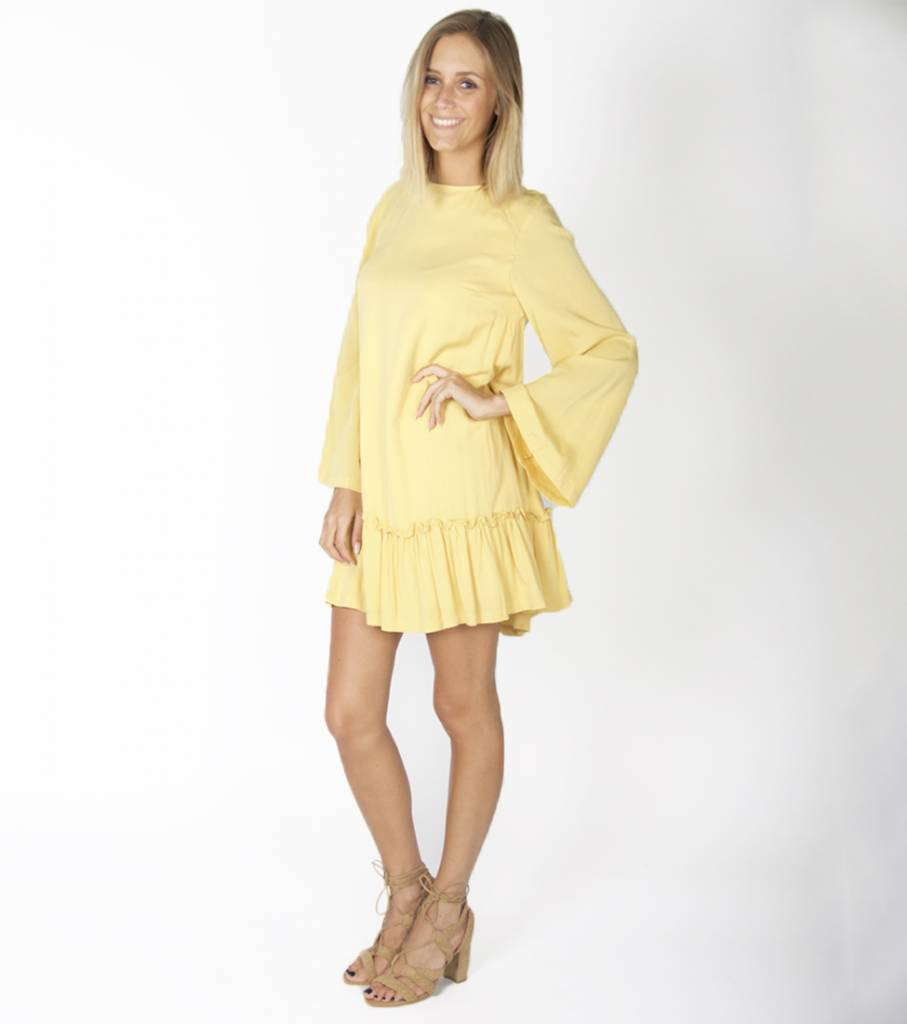 A-LINE TUNIC YELLOW