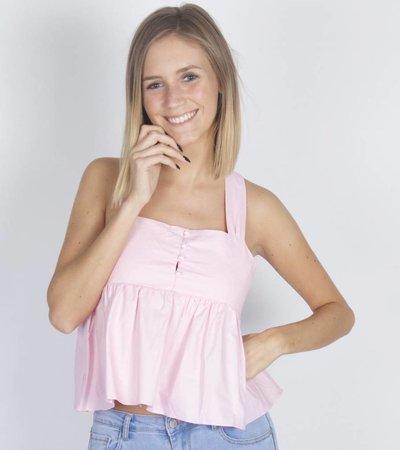PINK GIRLY MINI TOP