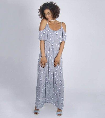 CITY OF STARS DARKBLUE DRESS