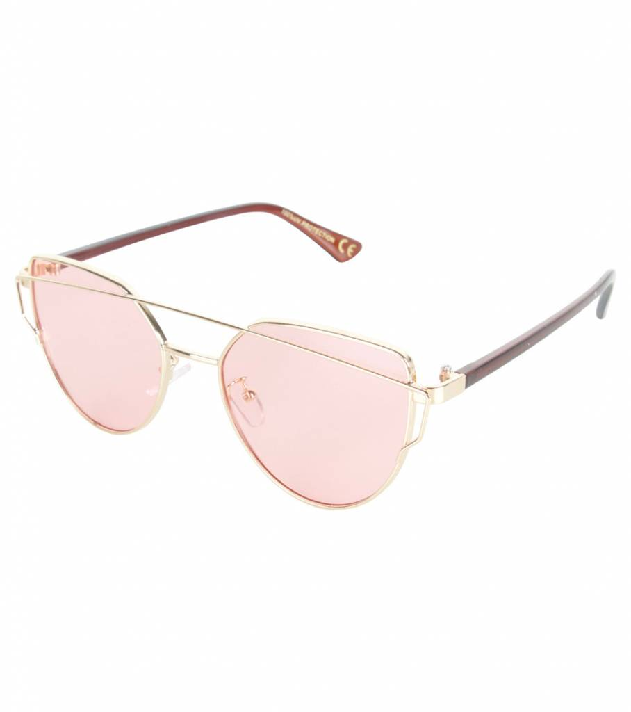 TRUE PINK GOLD GLASSES