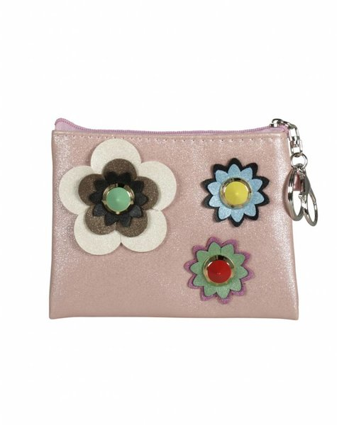 MINI FLOWER PINK WALLET