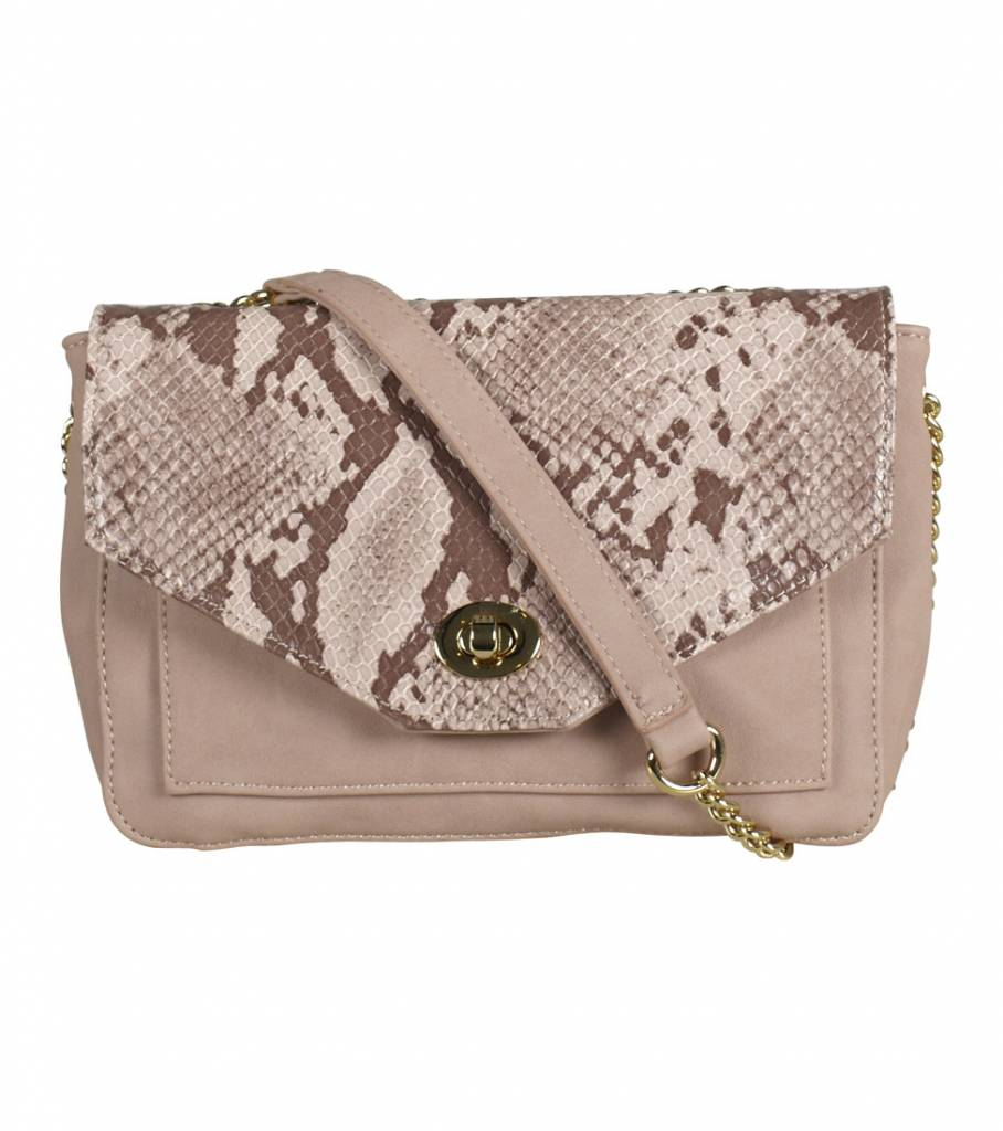 PINK SNAKE CLUTCH