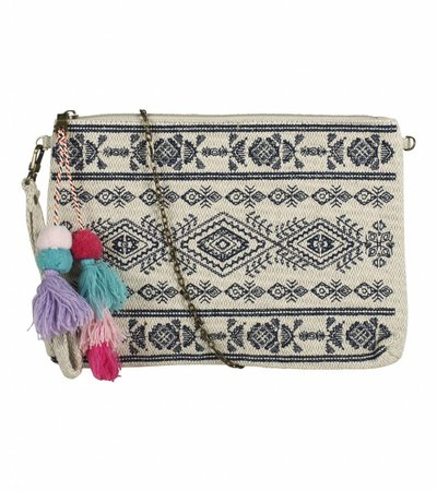 EGYPTIAN PAST CLUTCH BLUE