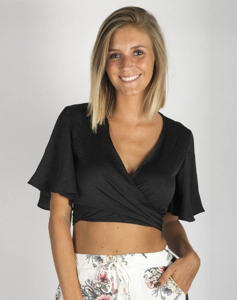 WRAP AROUND BLACK TOP