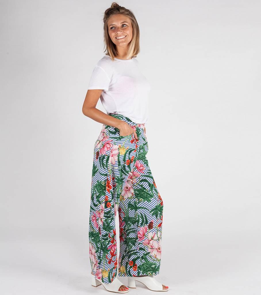 FLOWER EXPLOSION PANTS