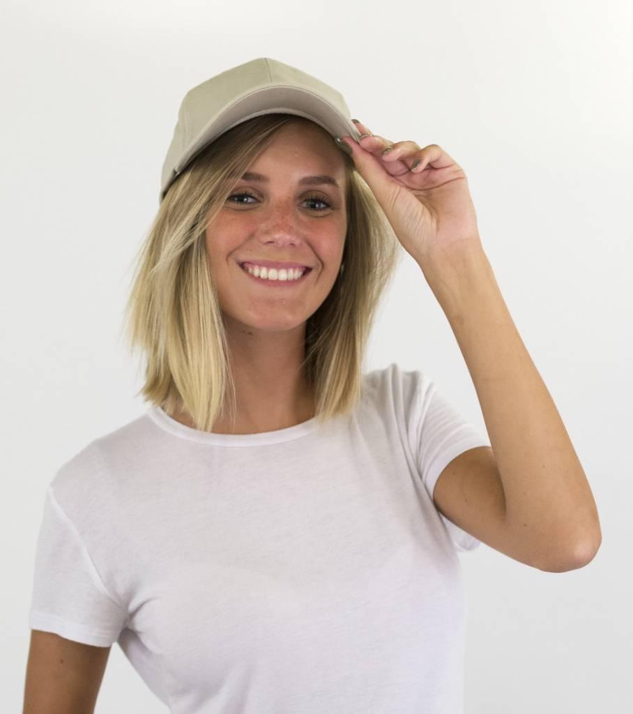BEIGE BASIC CAP