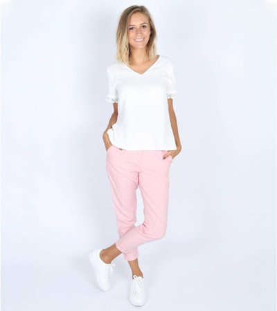 PINK MADNESS CLASSY TROUSERS