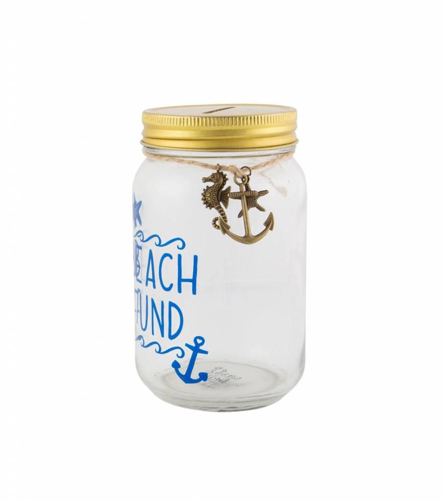 BEACH FUND MONEY BOX