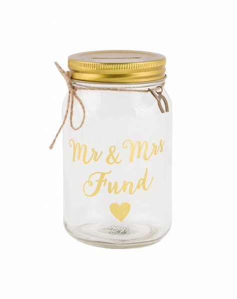 MR MRS MONEY BOX
