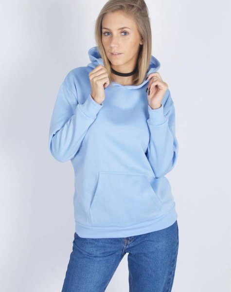 BASIC LIGHT BLUE SWEATER