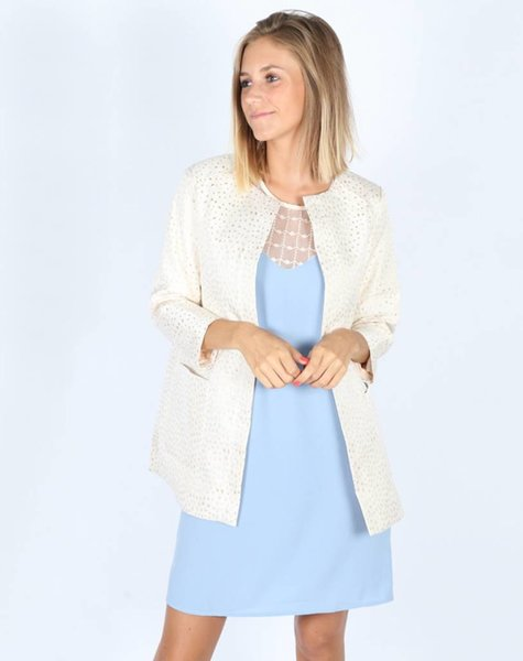 BEIGE PREPPY COAT