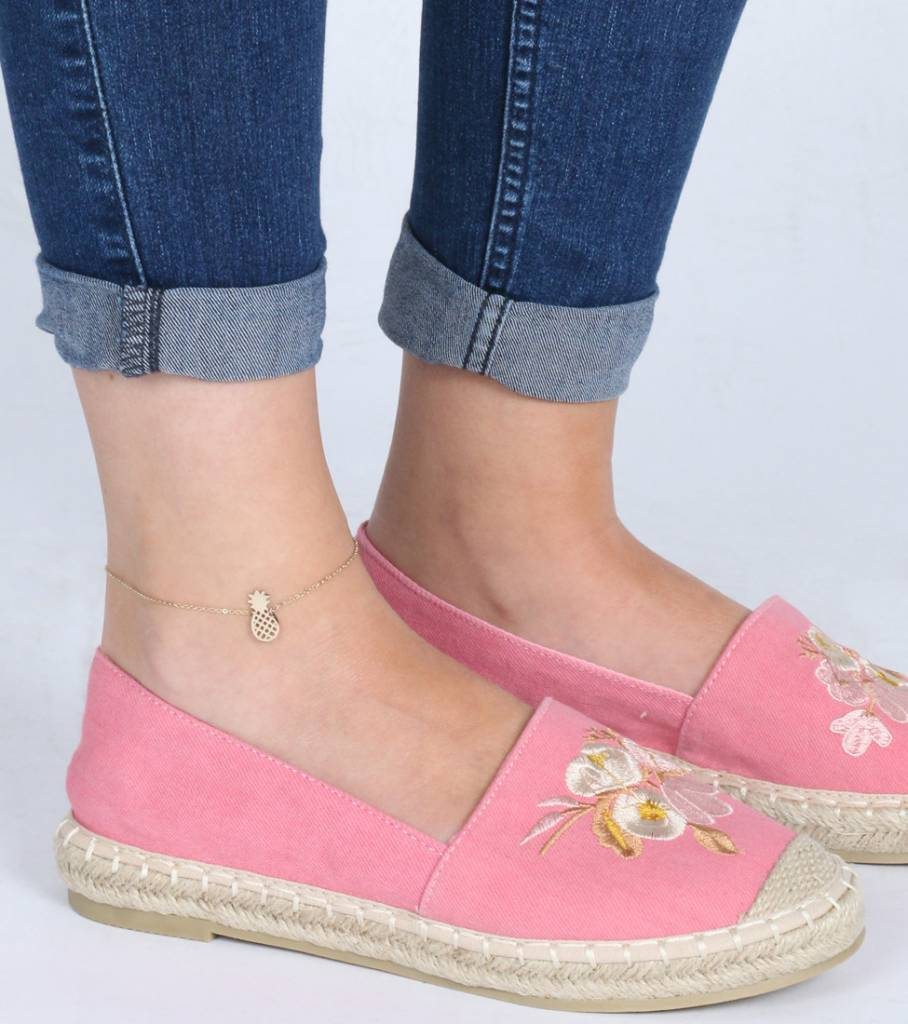 PINEAPPLE ANKLET GOLD