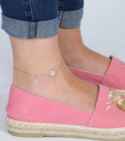 STAR WISH ANKLET SILVER
