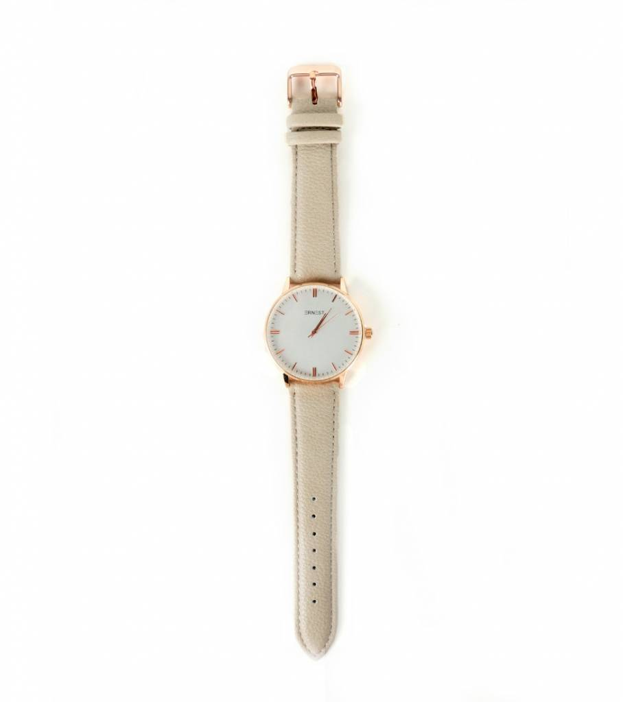BEIGE ROSE WATCH
