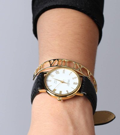 BLACK GOLD BASIC WATCH