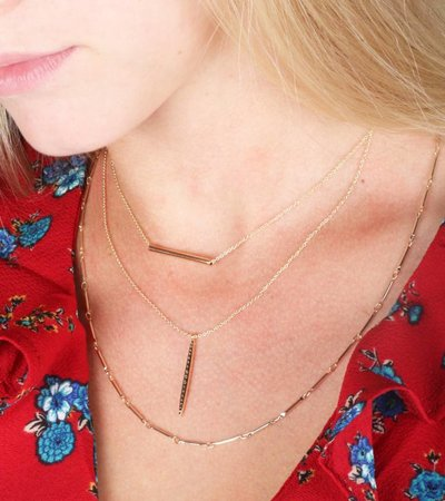 LAYER WITH ME GOLD NECKLACE