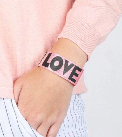 LOVE 90'S BRACELET PINK
