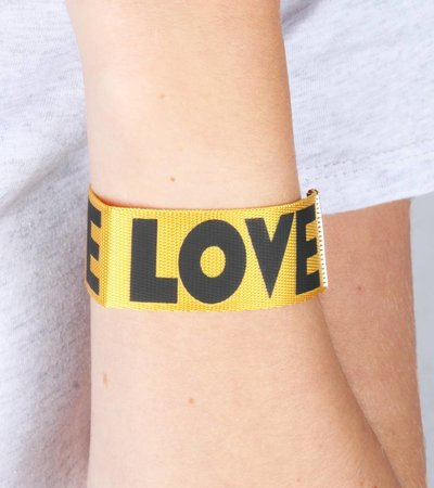 LOVE 90'S BRACELET YELLOW