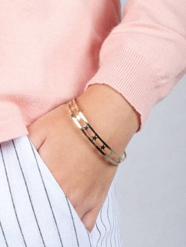 THOUSAND STARS BANGLE GOLD