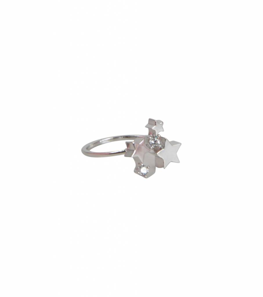 STAR AFFAIR RING SILVER