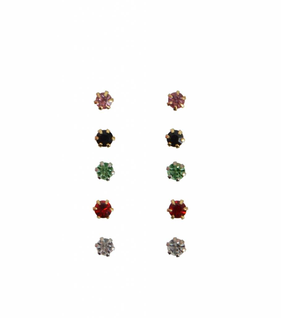 SHINE IN EVERY COLOR EARRING SET