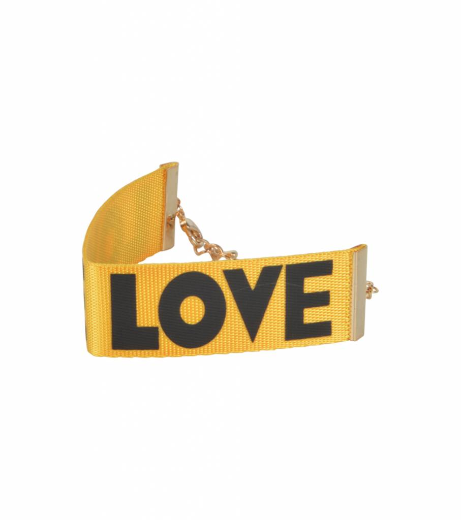 LOVE 90'S BRACELET YELLOW