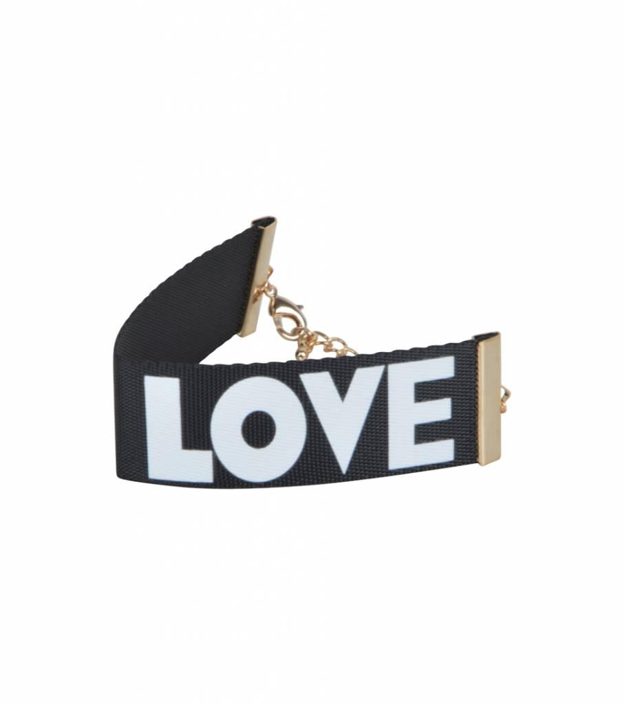 LOVE 90'S BRACELET BLACK