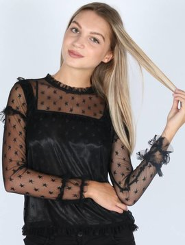 STAR SHEER BLOUSE