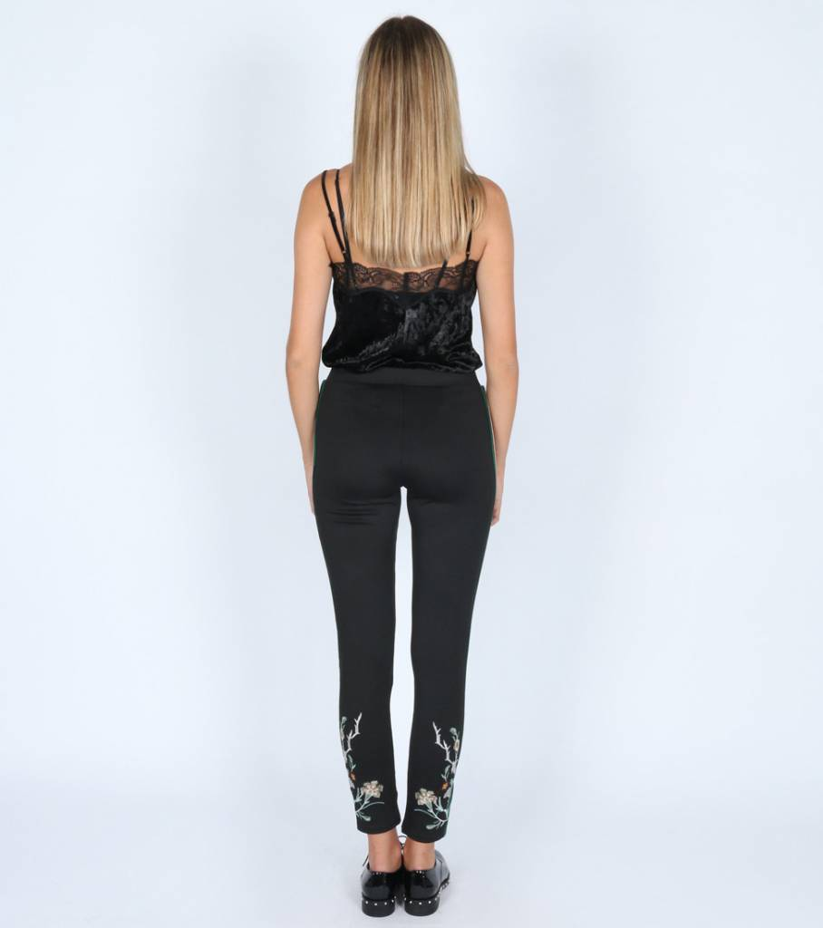 FOREST BLOOM STRETCH PANTS