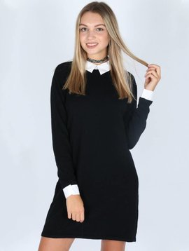 SCHOOLGIRL BLACK DRESS