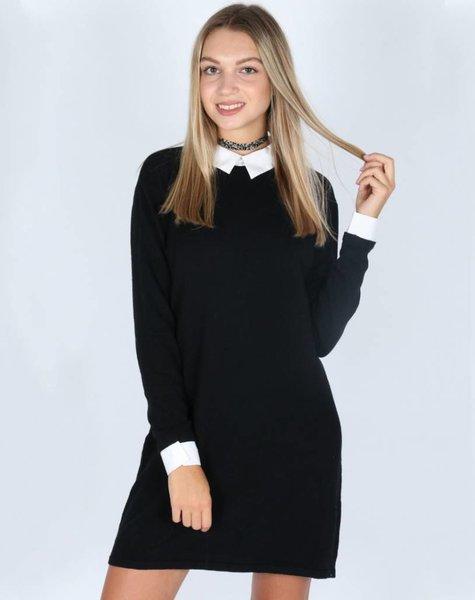 SCHOOLGIRL BLACK DRESS