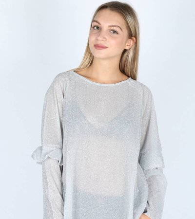 SPARKLE IN THE NIGHT GREY VEST