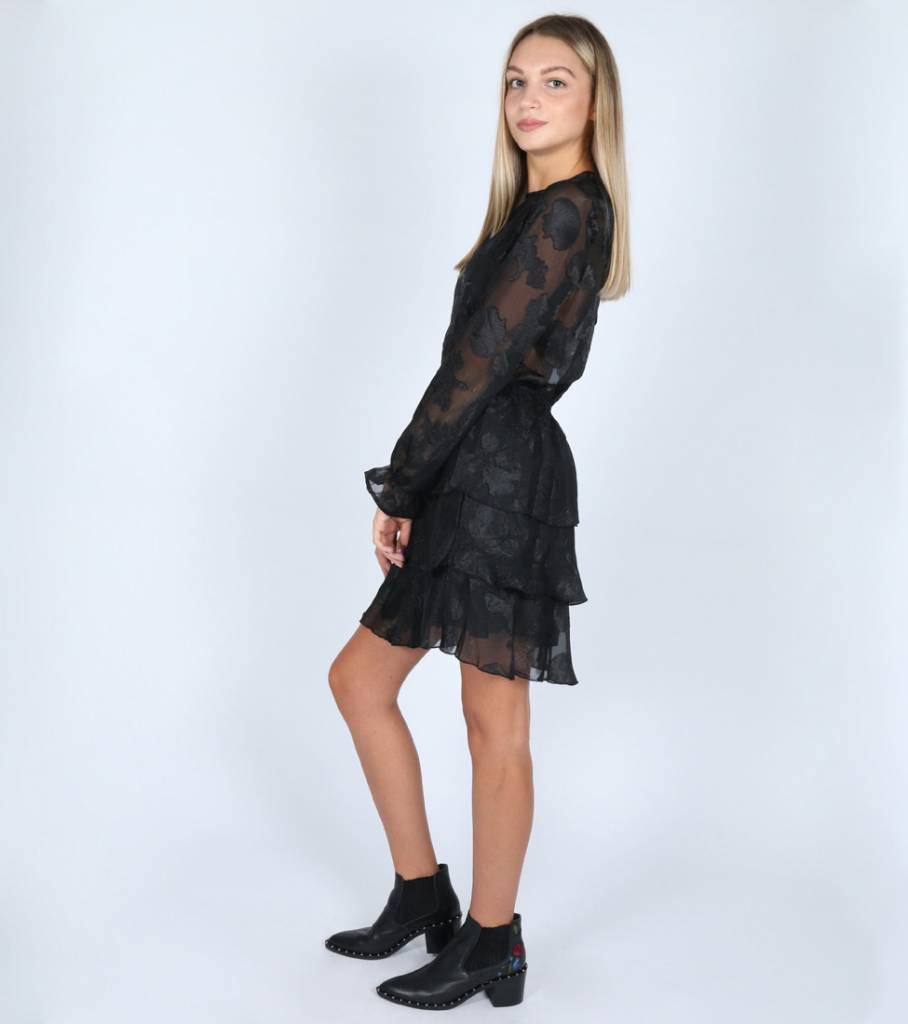 BLACK PRINCESS DRESS