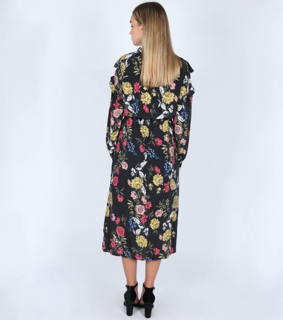 WALK IN FLOWERS DRESS