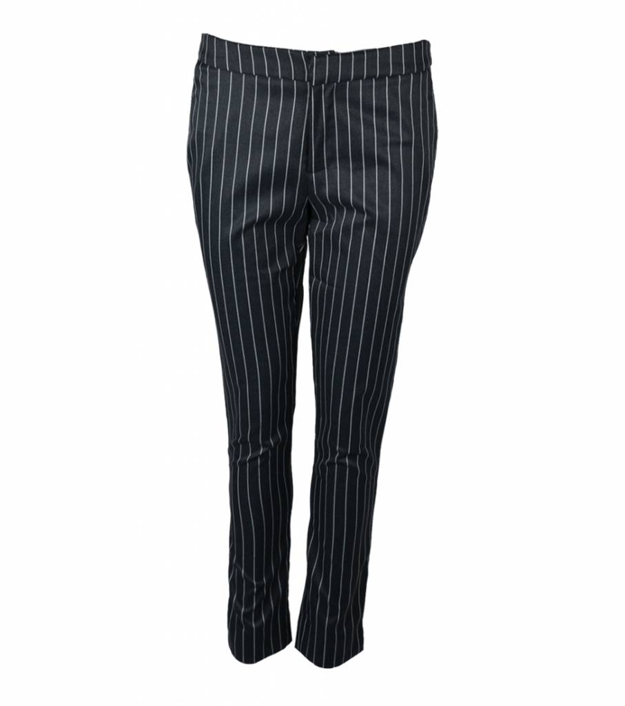 OFFICE WHITE STRIPED PANTS