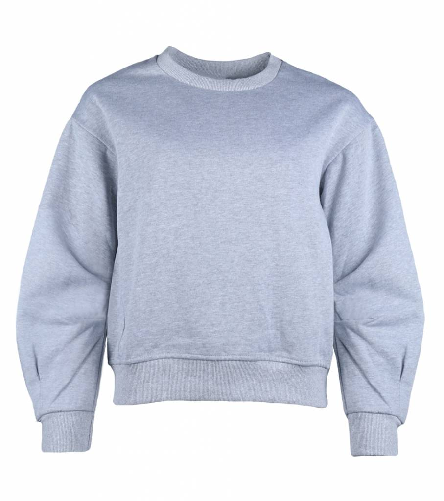CASUAL CHIC SWEATER GREY