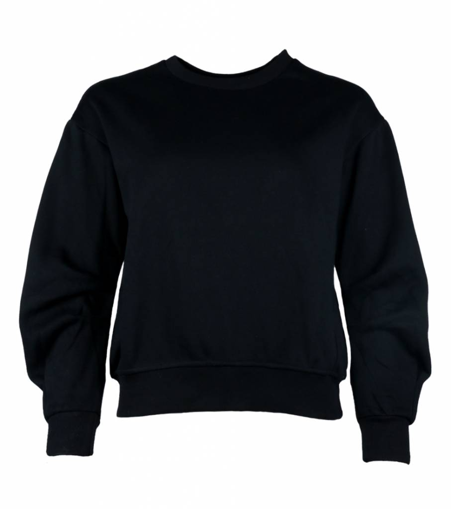 CASUAL CHIC SWEATER BLACK
