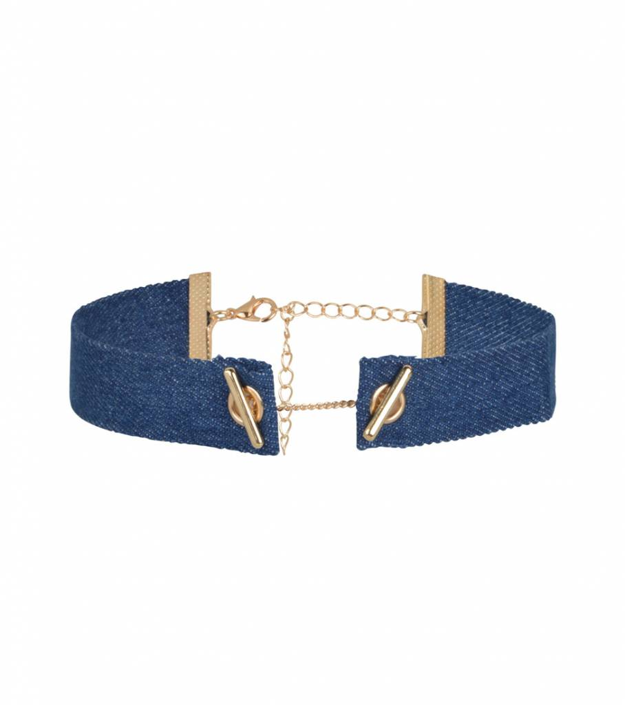 GOLDEN JEANS CHOKER