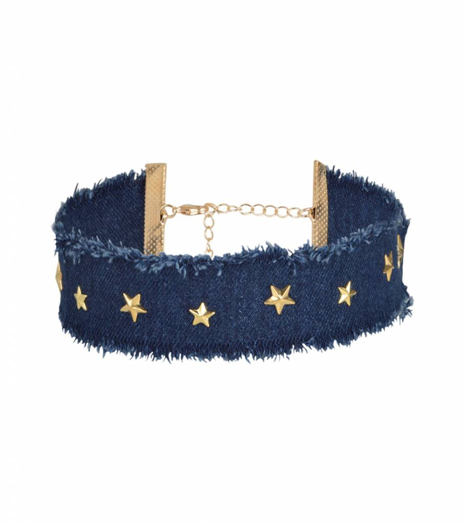 GOLDEN STAR JEANS CHOKER