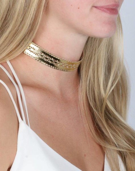 GOLDEN CHOKER
