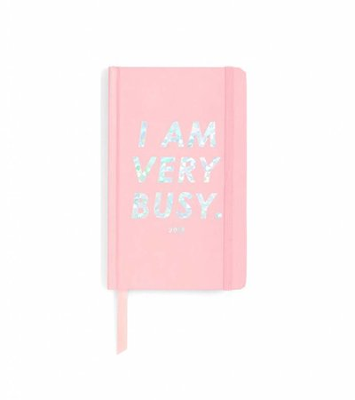 I AM VERY BUSY CLASSIC AGENDA